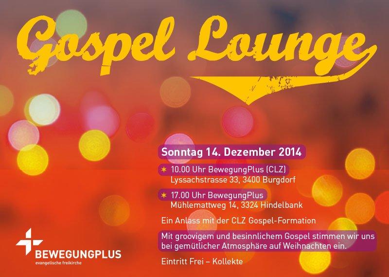 Flyer Gospel-Lounge