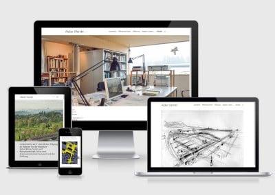Webauftritt Atelier Wehrlin