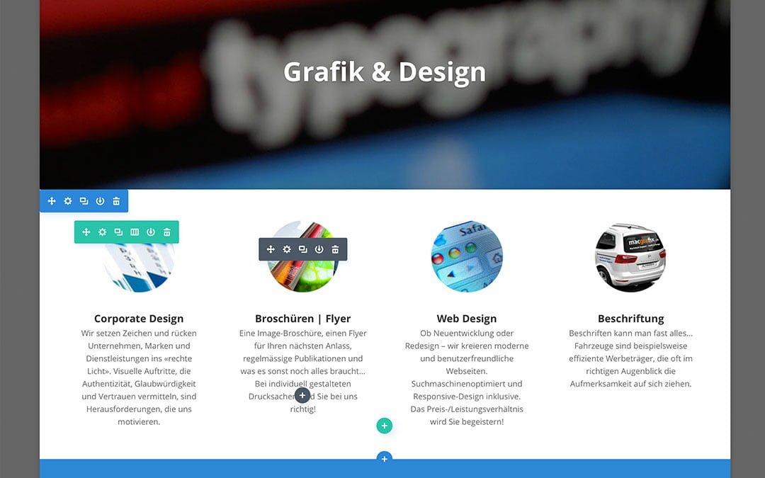 Neuer Visual-Editor für Ihre Webseiten