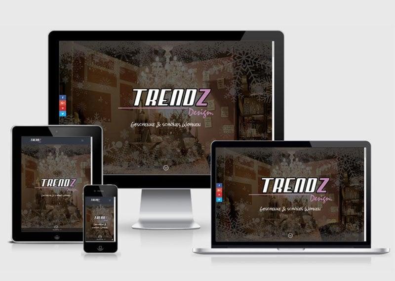 Webauftritt Trendz Design