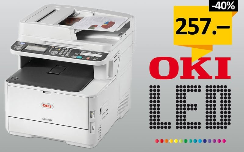 OKI Farb-Multifunktionsdrucker AKTION