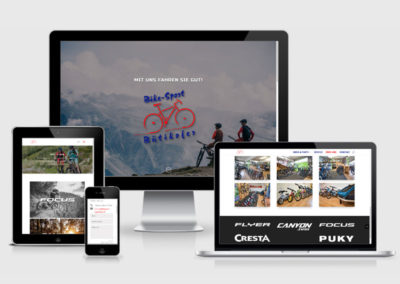 Webauftritt Bike-Sport Bütikofer